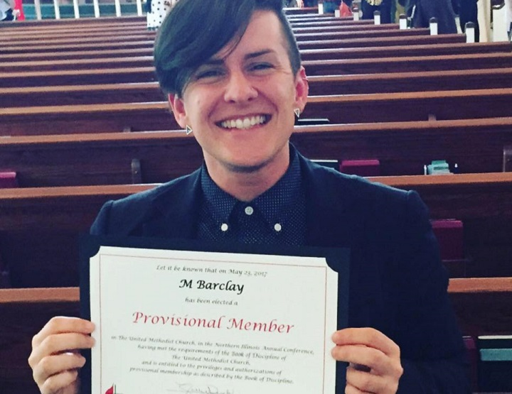 United Methodist Church Commissions First Openly Non-Binary Transgender Person asDeacon