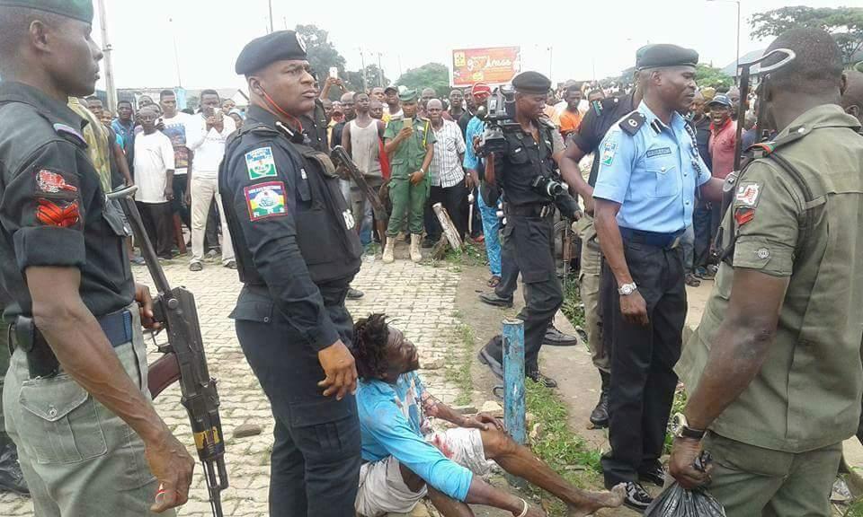 Ritual Killer's Hideout Discovered Along Ikeja,Nigeria