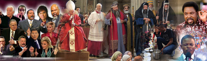 PHARISEES AND CHRISTIANS ARE THESAME