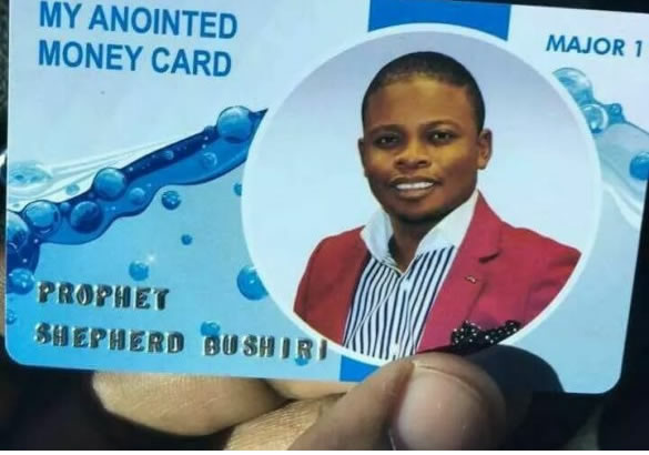 """Bushiri allegedly introduces """"anointed ATM cards"""" for tithes and offeringpayments"""