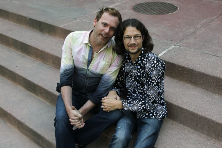 Charlie Craig and David Mullins