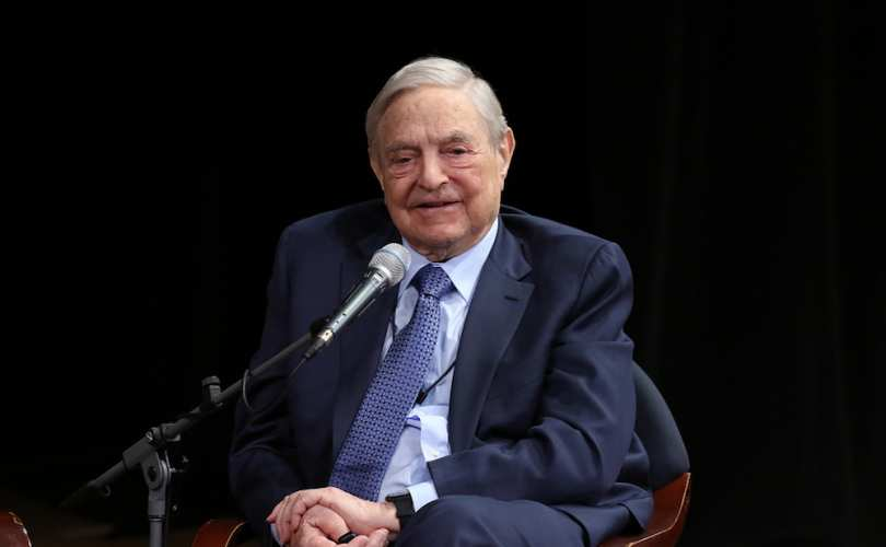 Pro-abortionist billionaire George Soros gives $18 billion to make his foundation second richest inU.S.