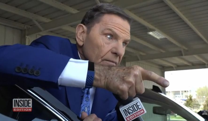 An Angry Spirit Emerges From Kenneth Copeland When Interviewed  By Inside EditionVideo
