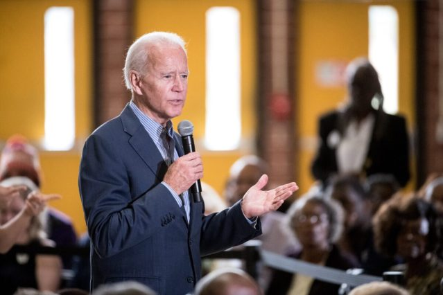 Presidential Candidate Joe Biden Holds A Town Hall In South Carolina