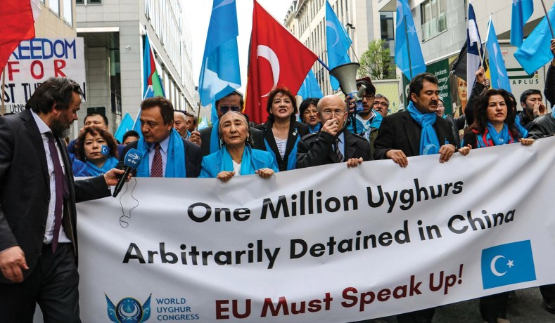 China 'Holding at least 120,000 Uyghur Muslims in Re-EducationCamps'