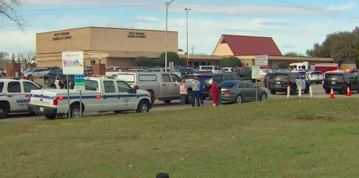 Shooting at Church of Christ in Texas Leaves TwoDead